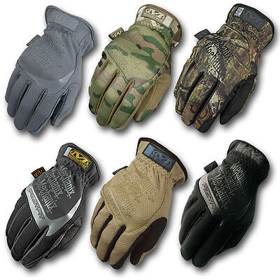 Mechanix Wear Fastfit Touch Gloves Army Military Shooting Cold Weather Glove