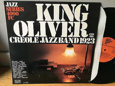 LP ITALY  King Oliver & His Creole Jazz Band 1923 NM