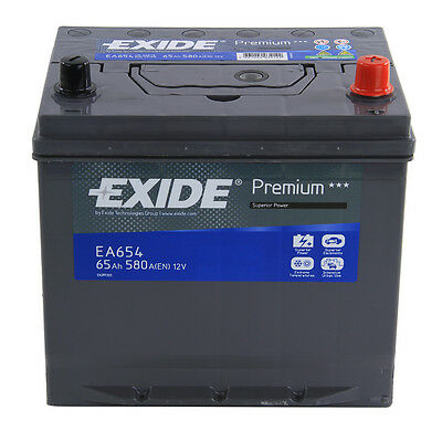Type 005 580CCA 4 Years Wty OEM Replacement Exide Premium Car Battery 12V 65Ah