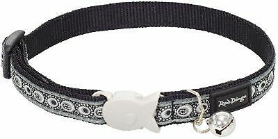 RED DINGO Collier pour Chat Cosmos Noir 20-32 12 mm