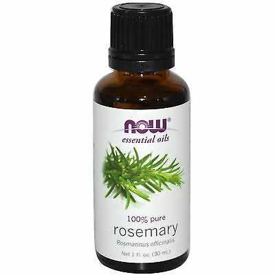 Rosemary (100% Pure), 1 oz - NOW Foods Essential Oils