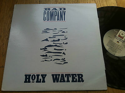 LP USA 1990  Bad Company  – Holy Water Label: ATCO Records – A1-91371 Forma