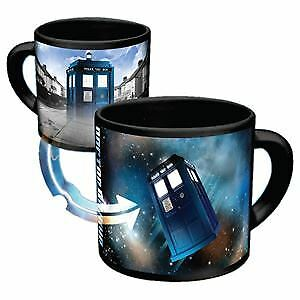 Official Doctor Who 11 oz Heat Reveal Changing Tardis Coffee Mug - Boxed Gift