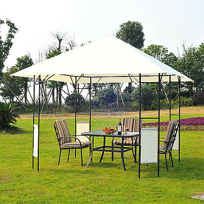 Outsunny 10'x10'  Waterproof Gazebo Wedding Party Tent Canopy Patio Pavilion