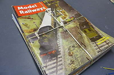 Model Railways - British Mag Collection 12 Issues 1972-87 Vintage MR2