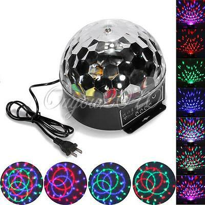 DMX512 Disco DJ Stage Lighting Digital LED RGB Crystal Ball Effect Party Ampoule