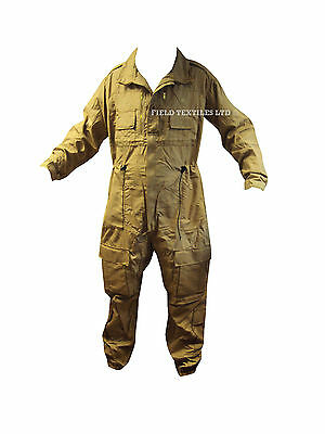 British Army - MENS Sand/Beige AFV Crewman COVERALL - 180/104 Regular/Large NEW