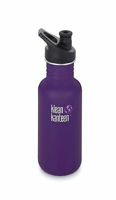 Klean Kanteen - Classic 532ml Berry Syrup - Sport Cap - Free P&P