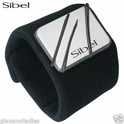 Sibel Black Quickystick Magnetic Bracelet Wrist Band for Hair Grips and Hair