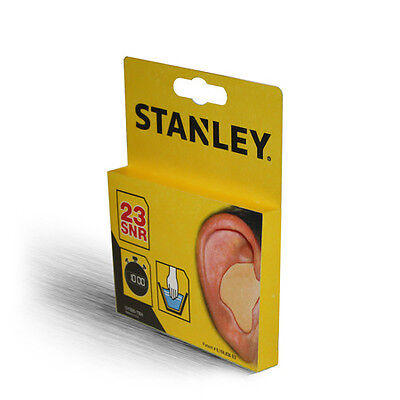STANLEY Ear Plugs Custom Moulded 23db SY330 with FREE P+P