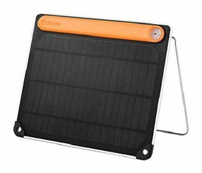 BioLite - SolarSlate 5 Plus - Solar Panel Charger - FREE P+P
