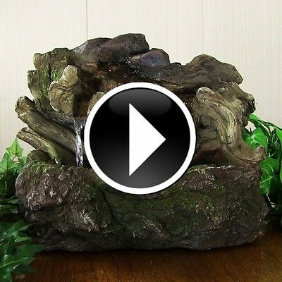 Indoor Water Feature Fountains Tabletop Desktop Waterfall Fountain Home Decor