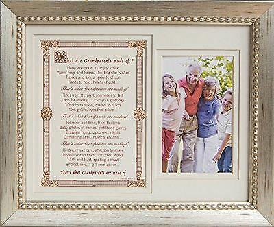 The Grandparent Gift Frame, What are Grandparents made of?