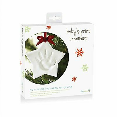 Tiny Ideas Babys Handprint Ornament, Star