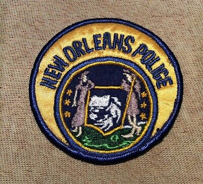 LA Vintage New Orleans Louisiana Police Patch