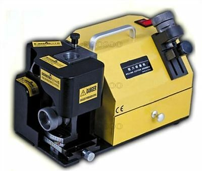 Portable 3-13Mm End Mill Grinder Grinding Machine Sharpener With 5 Collets Q