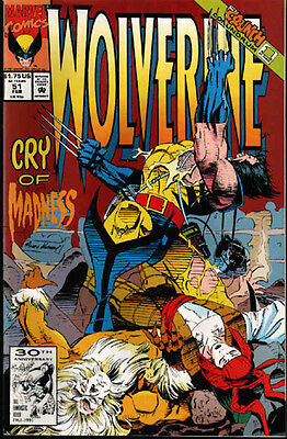WOLVERINE #51 NM, Marvel Comics CRY OF MADNESS