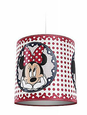 Philips Disney Abat-jour suspension en plastique pour enfant Motif Minnie Mouse