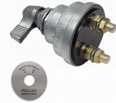 Pollak 51-902 51-302 Battery Master Disconnect Kill Switch 180 Amps ON OFF a