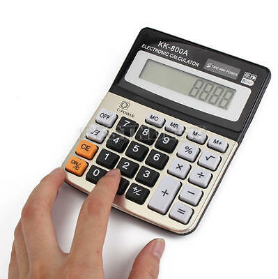 8 Digital Display Calculator Battery Powered Financial Business Office Products