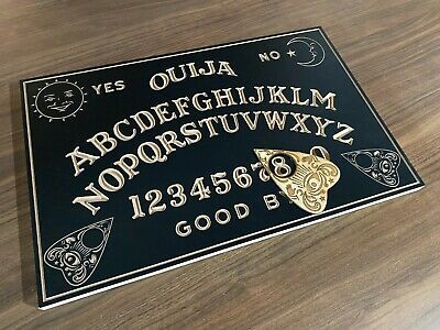 Solid Wooden Spirit Ouija Board With Planchette. Crafted in Australia. 50cm Wide