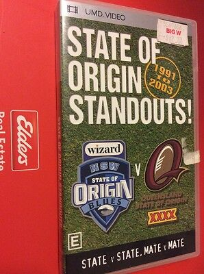 State Of Origin Standouts! 1991 To 2003 Psp Umd Video Movie Sony Playstation