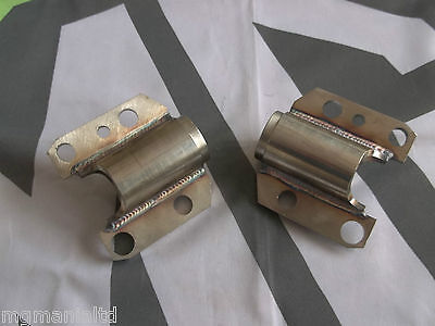MGF Trophy 2x Uprated  Front & Rear Subframe Rear Mounts Stainless KGE000071