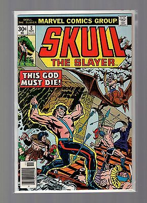 Skull the Slayer #8 FNVF Kirby, Buscema, Last Issue