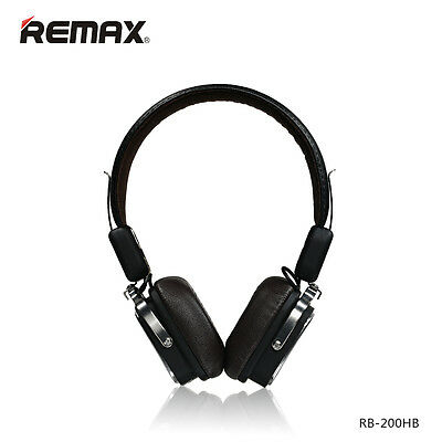 Remax Bluetooth 4.1 Wireless Headphones 200HB On-Ear-Kopfhörer (schwarz)