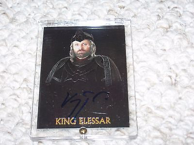Lord of the Rings Viggo Mortenson Elessar Authentic NM Autograph Trilogy