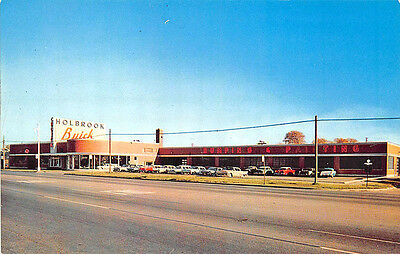 Jacksonville Fl Powell Plymouth Dealership Postcard 24