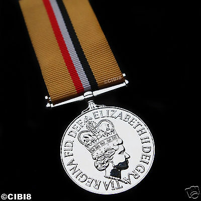 British Op Telic Iraq Medal Full Size Copy To Officers | Armed Forces Campaign |