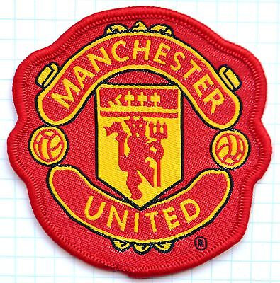 Manchester United Embroidered Patch