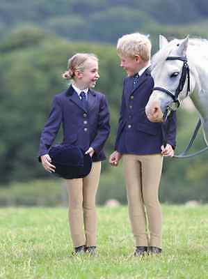 """Shires Aston Childrens Classic Show Competition Jacket - Black, Navy - 20"""" - 34"""""""