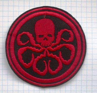 Avengers Agents Of Shield T.V.Hydra Embroidered Cloth Iron On Patches