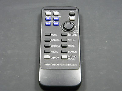 2010 SUBARU TRIBECA DVD Entertainment Remote Control REAR SEAT OEM CY-KF8560K