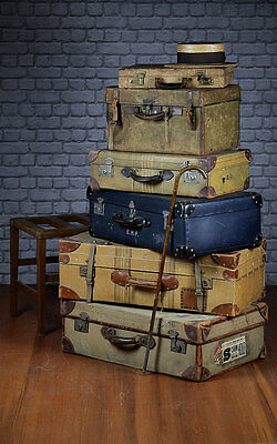 Collection of Vintage Luggage c.1930.