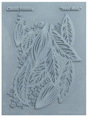 Christi Friesen Image Texture Stamp Mold Sheet Surface Imprinting Leaf Mob