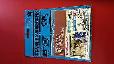 Stanley Gibbons 25 SG Listed Stamps Original Packaging 1985 L7