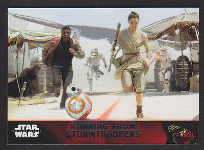 Topps Star Wars - The Force Awakens - Base Card # 89