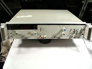 Hp 5328A Universal Counter W/ Dvm And Channel C Tested