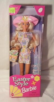 Mattel 1997 Special Edition Easter Style Barbie NRFB 17651