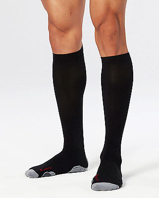 NEW 2XU Compression Socks for Recovery Mens Socks