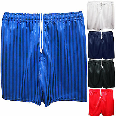 Unisex Boys Girls School Shadow Stripe Sports School Pe Shorts Football New