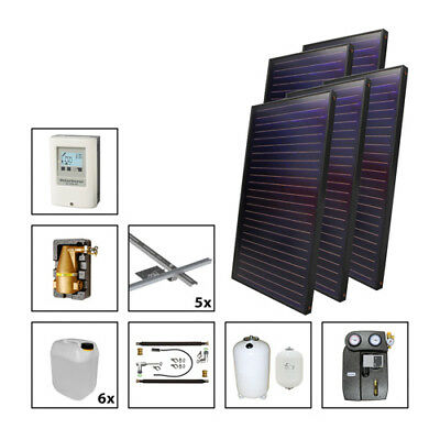 Solarbayer premium plus Solar package - Solar Heating support + Warm water