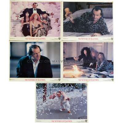 WITCHES OF EASTWICK US Lobby Cards x5 8x10 - 1987 - George Miller, Jack Nicholso