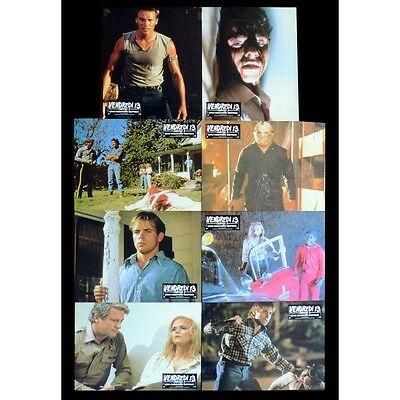 Friday THE 13TH Chapter V French Lobby cards x8 9x12 - 1980 - Sean S. Cunningham