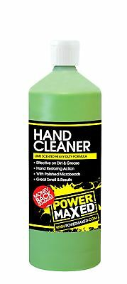 Power Maxed Lime Beaded Hand Cleaner 1 Litre For Work Shop & Home