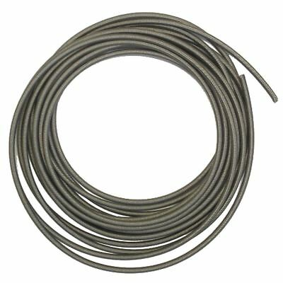 Stainless Braided Brake Hose with clear covering (10 Mtrs)