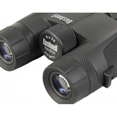 bushnell powerview 8x32 binoculars (black)